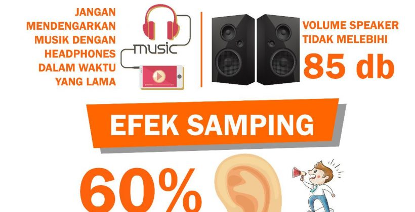 Efek Negative Headset atau earphone